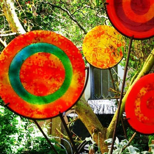 Garden Art Glass